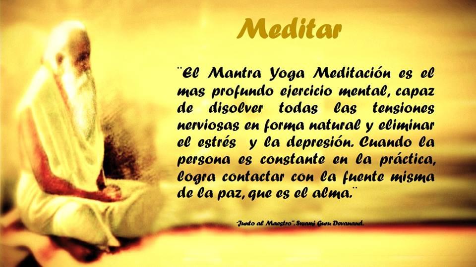 Aprender Mantra Yoga Meditaci�n Gur� Devanand